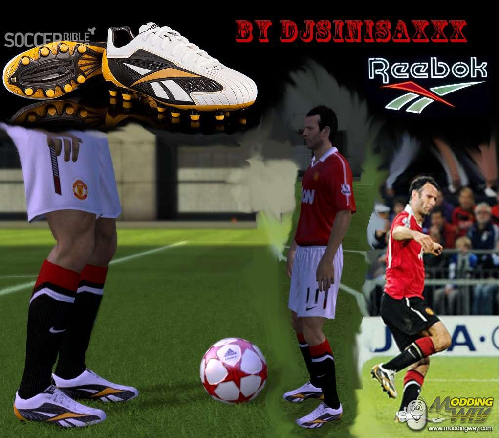promo code 38530 47896 FIFA 11   Boots   Giggs Boots Reebok Instante Pro White Black Yellow - FIFA  11