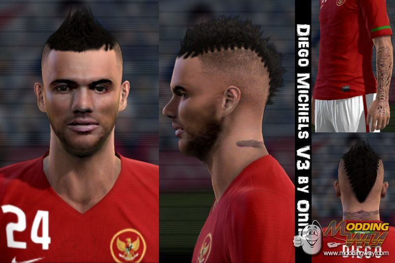 Diego Michiels V3 By Onny Pro Evolution Soccer 2012 At Moddingway