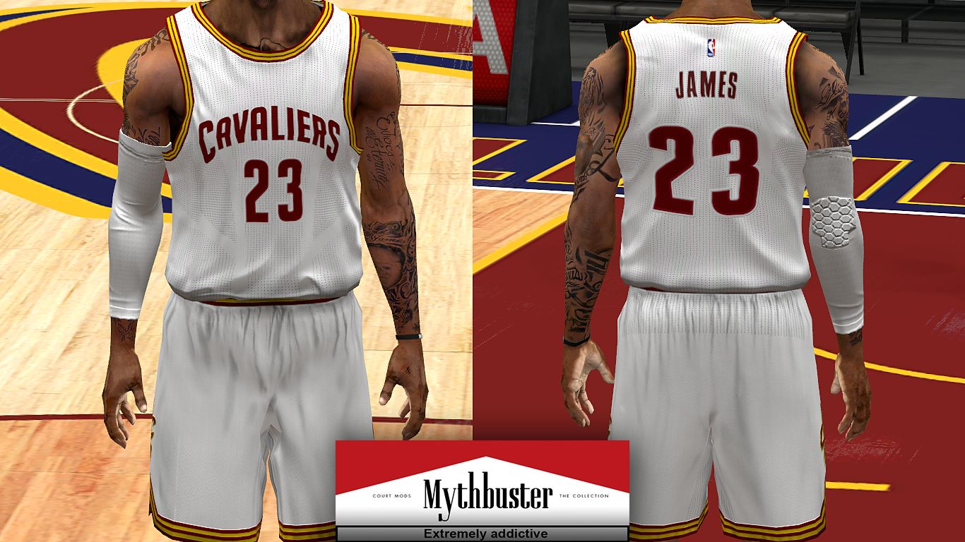 95606f241310 Cleveland Cavaliers Jersey Pack - NBA 2K14 at ModdingWay