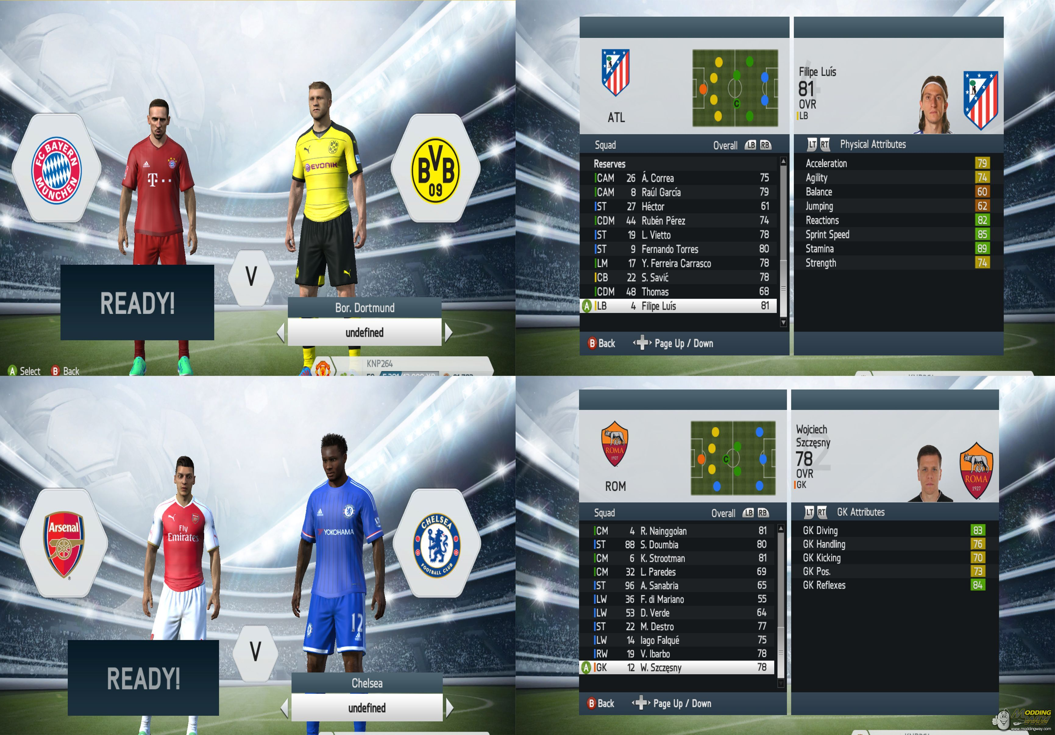 b58c168ed Database with Summer transfers 15 16 (Update 5.0) - FIFA 14 at ModdingWay