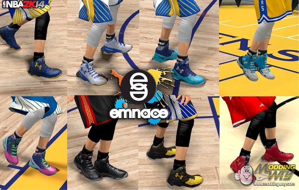 83c7322673c1 ... official curry 2 colorways released. nba 2k14 at moddingway 40a63 62733