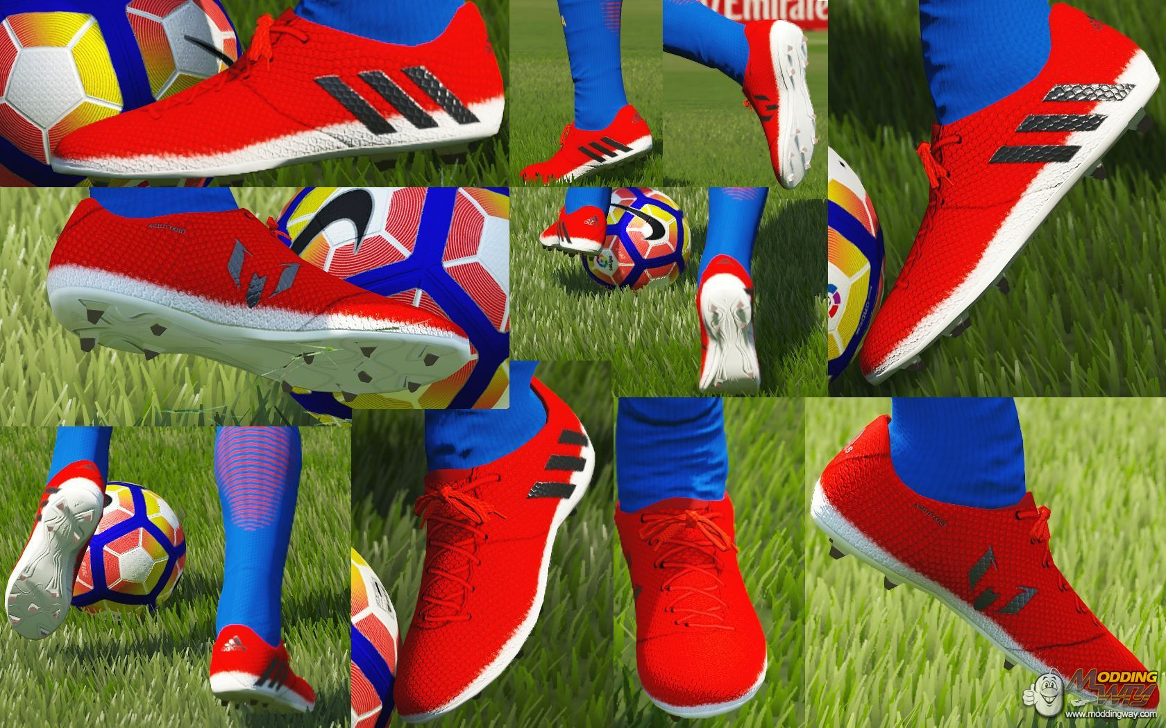 Folleto Vástago Seguro  Adidas Messi 16.1 Red Limit by Barrysun (Nabo78 editing) - FIFA 16 at  ModdingWay