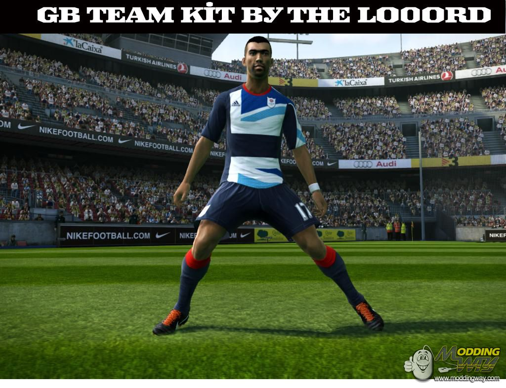 a3a48559d78 Pro Evolution Soccer 2012   Kits   Great Britain Team 2012 home kit by the  lo0ord - Pro Evolution Soccer 2012