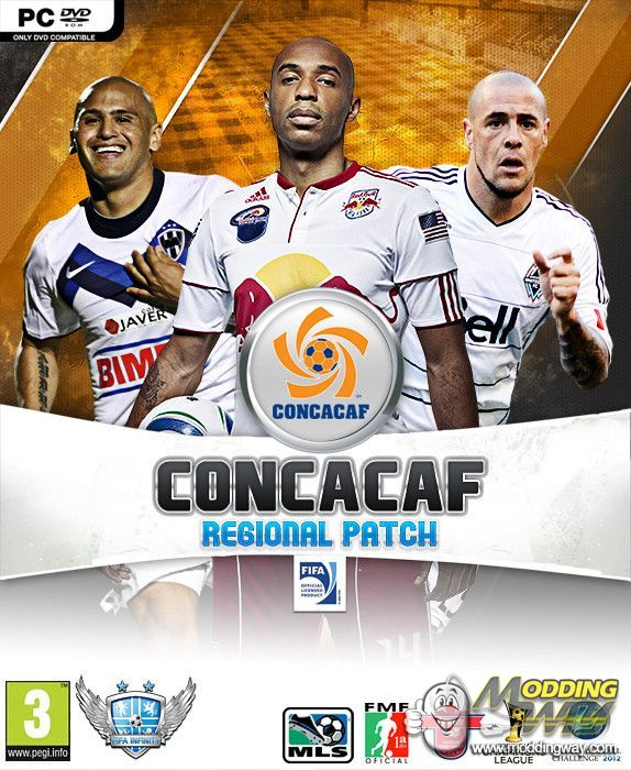 concacaf regional patch