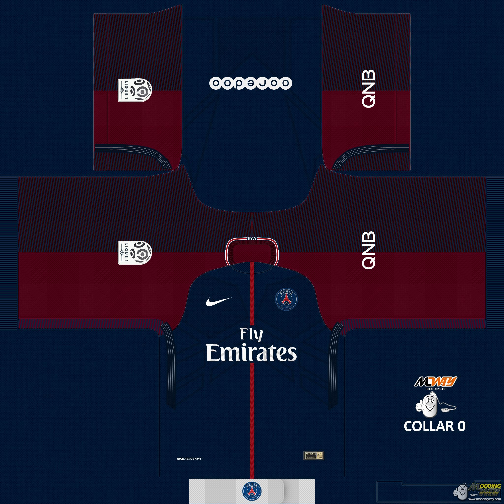 c1f191b36 PSG Home 17-18 - FIFA 16 at ModdingWay