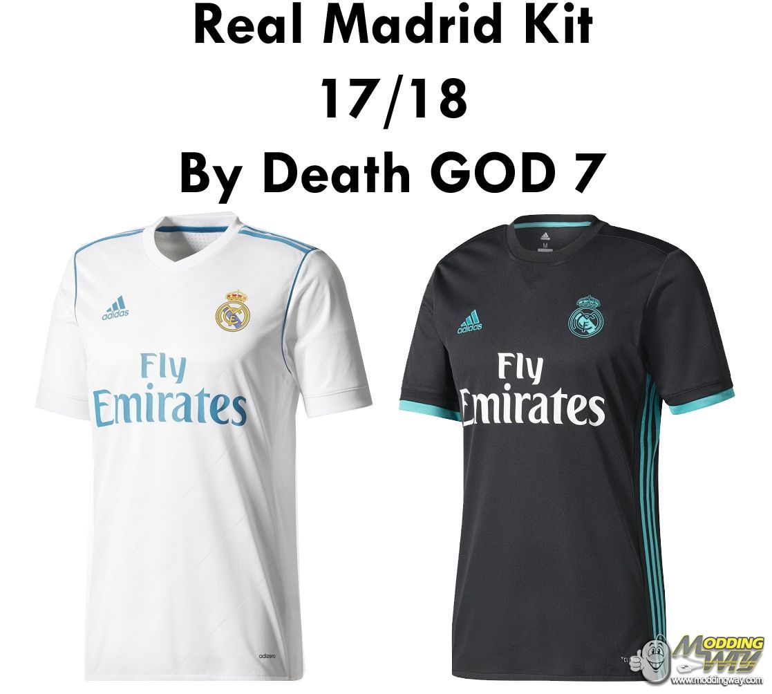purchase cheap 6fbae be096 Real Madrid Kit 17-18 Home & Away By Death GOD 7 - FIFA 14 ...