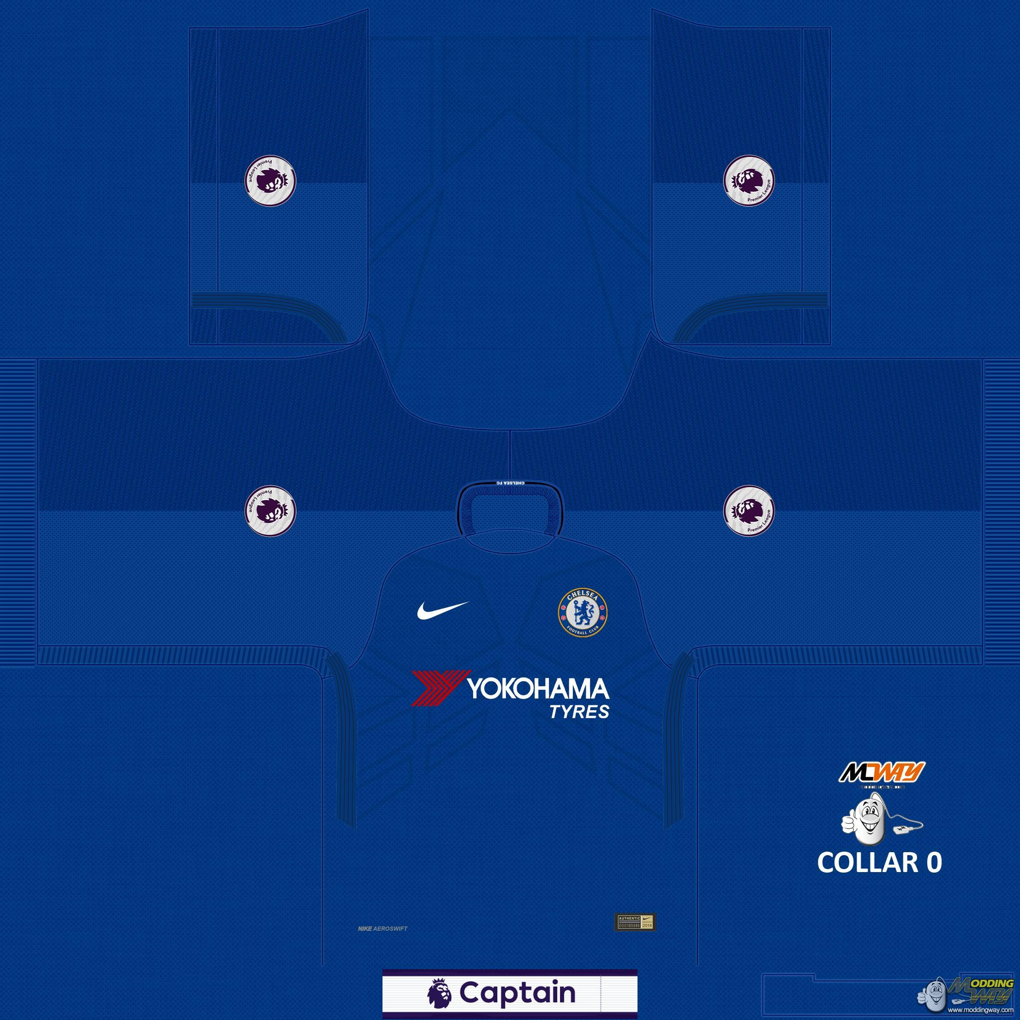 b4bdc26da Chelsea Home 17-18 - FIFA 16 at ModdingWay