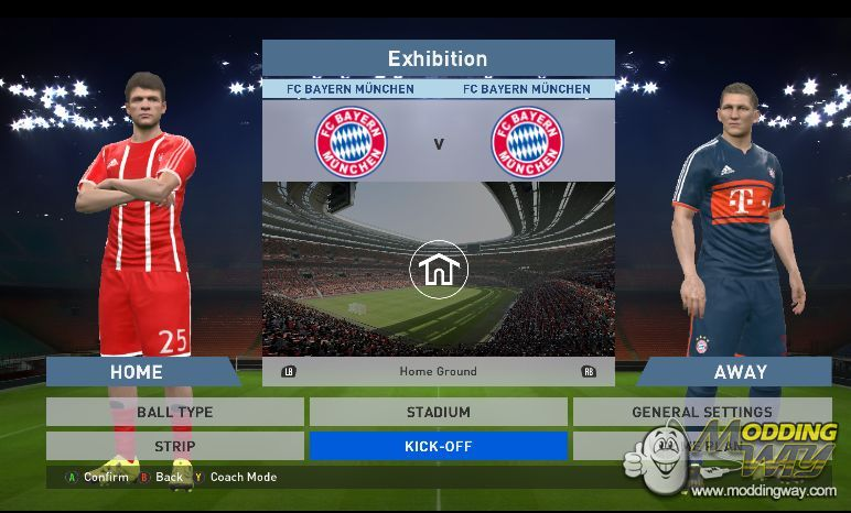 FC Bayern Munchen 2017/18 Kits Pack for PES 16 by Fifa