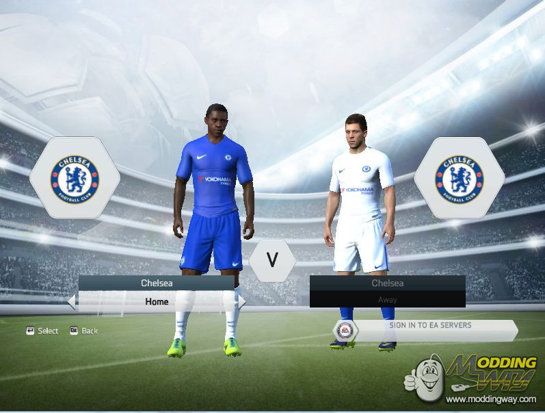 FIFA 15   Kits   Chelsea FC 2017 18 Kit Pack For FIFA 14 15 - FIFA 15 853a7dc68