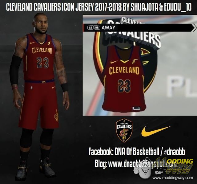 low priced c0265 0e809 cleveland cavaliers nike jersey nba 2k14