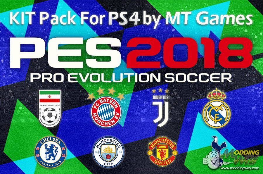 New Kits 2018 For PES 2018 PC & PS4 (PNG Files) - Pro Evolution