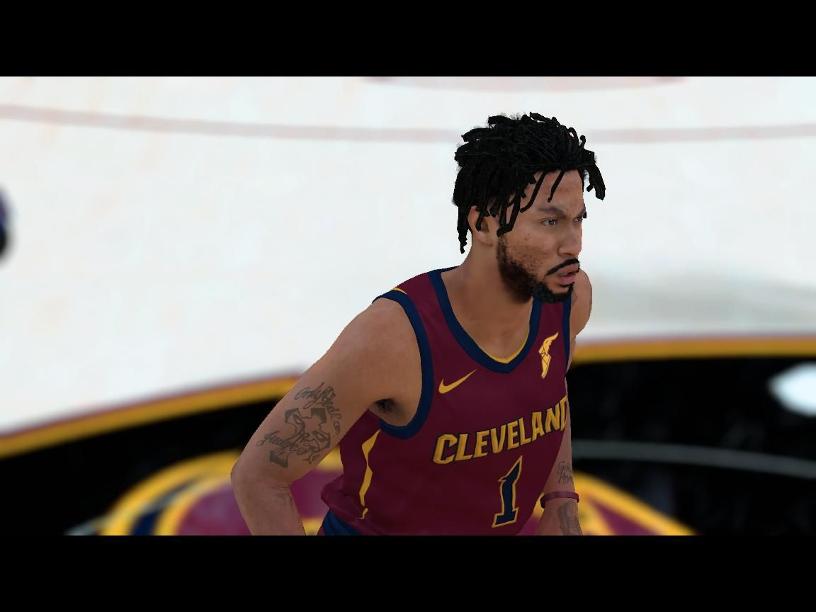 67e0830439cb Derrick Rose new look link fix - NBA 2K18 at ModdingWay