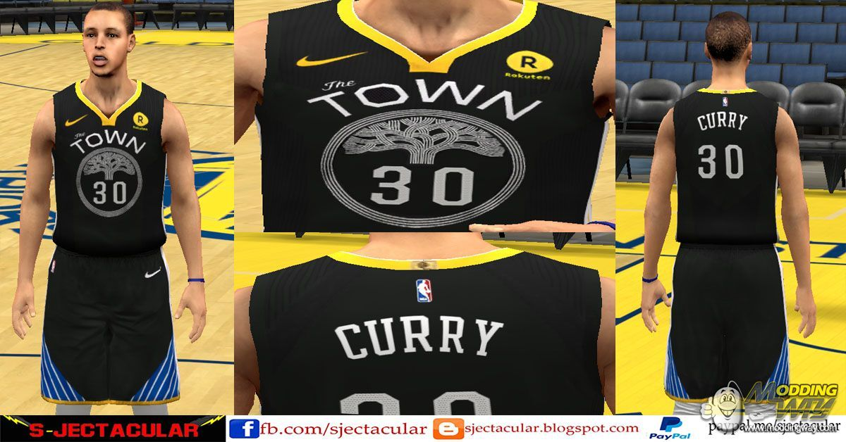 sneakers for cheap 4a707 5285a Golden State Warriors Nike Statement Jersey - NBA 2K14