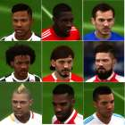 FIFA 18 converted faces: Facepack #1 [CORRECTED HAIR/HAIRLOD]