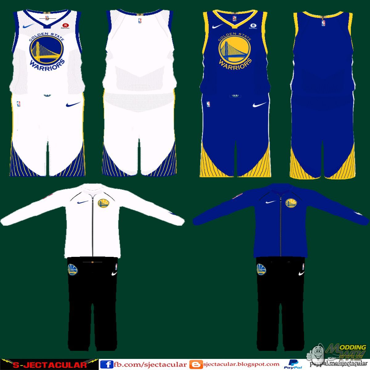 low priced 65ff8 d586e Golden State Warriors Assoc & Icon Nike Jersey Update - NBA ...