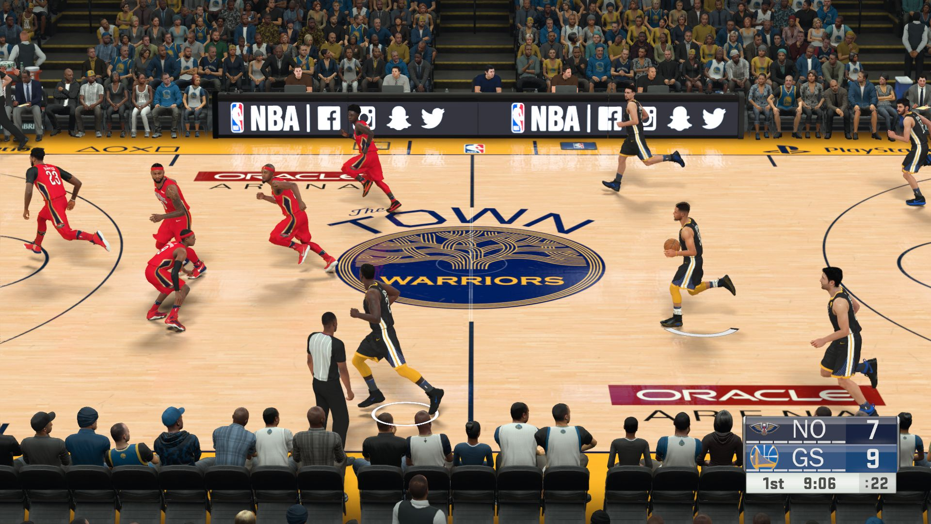Golden State Warriors The Town Oracle Arena Nba 2k18 At Moddingway