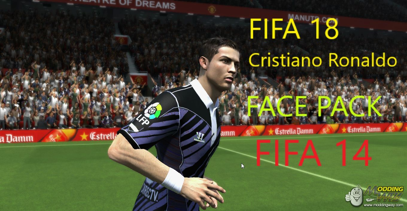 FI XVIII Cristiano Ronaldo face pack For FI XIV By Jayed Ibn
