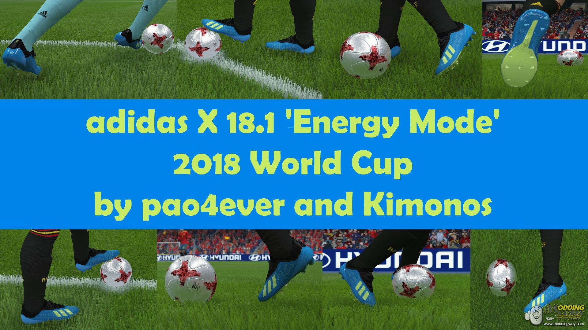 179dc97a8182 FIFA 16   Boots   adidas X 18.1  Energy Mode  2018 World Cup - FIFA 16