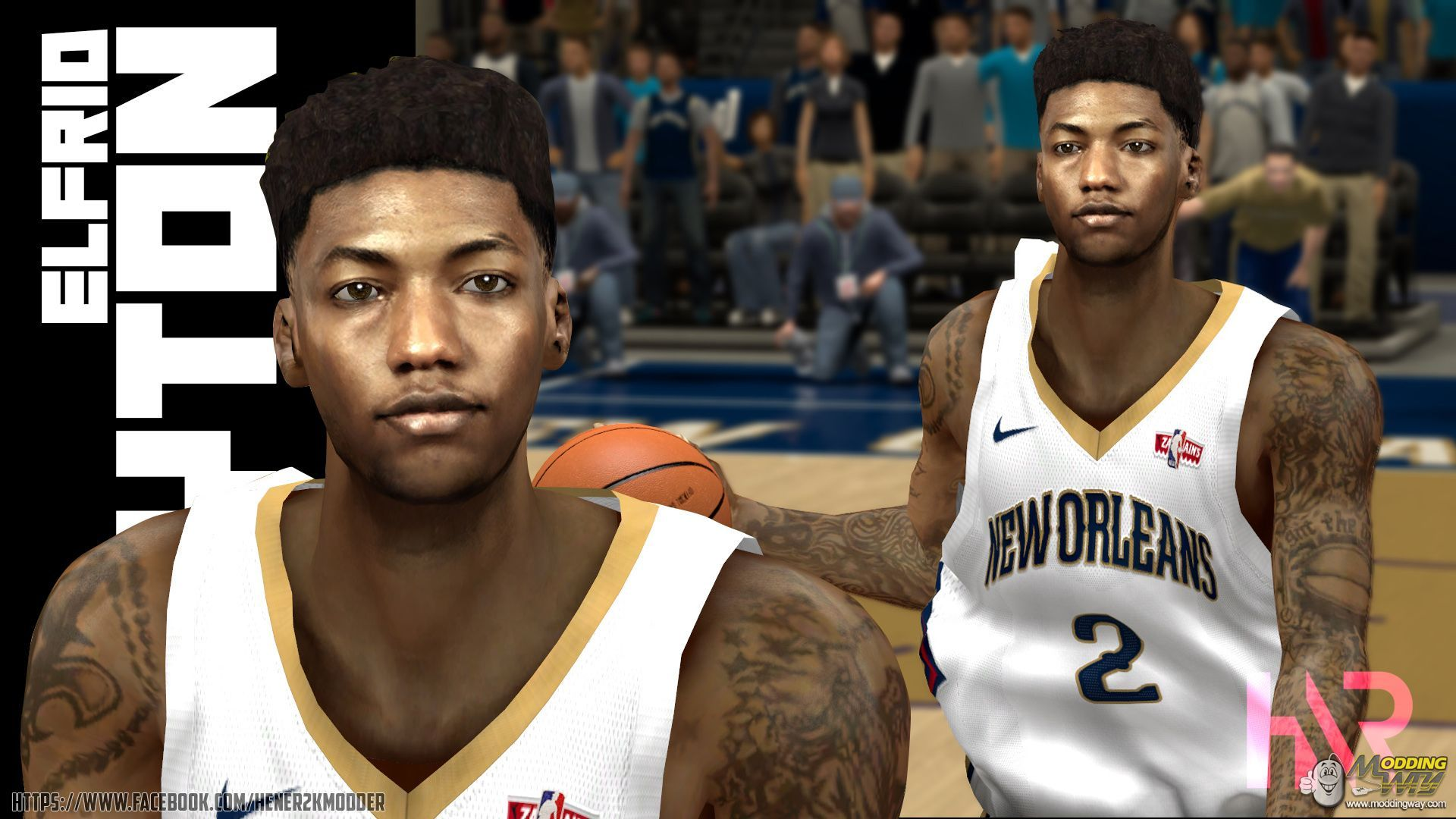 Elfrid Payton 2018 Cf By Hener2k Nba 2k14 At Moddingway