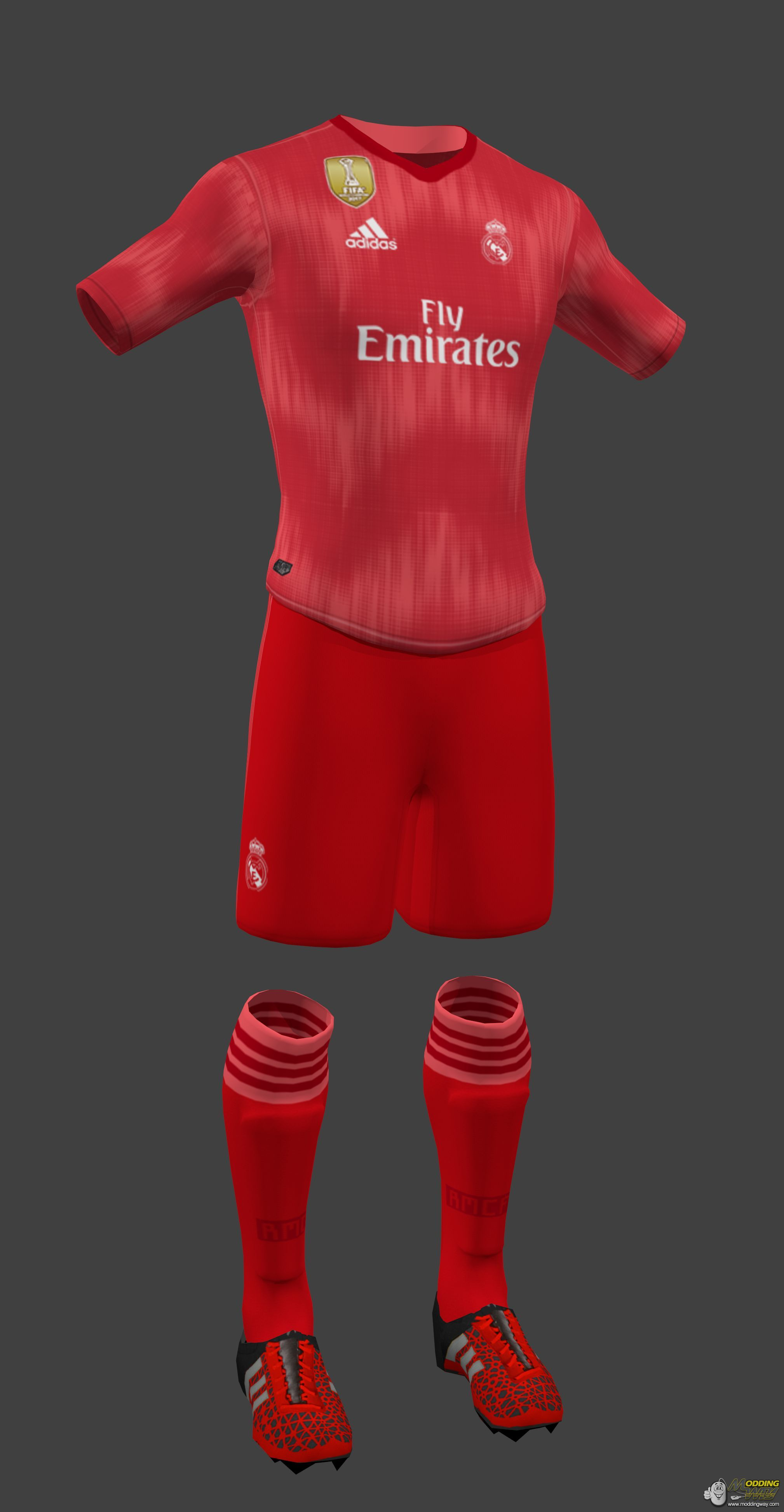 outlet store 1b301 40f0d Real Madrid Third Kit 2018-19 - FIFA 16 at ModdingWay