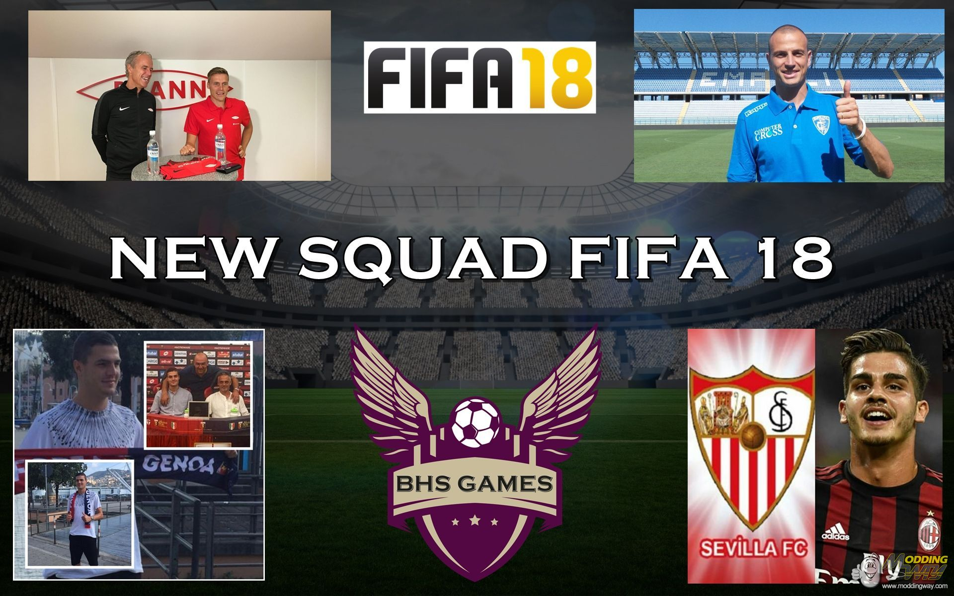 fifa 14 squad update 2018/19 file