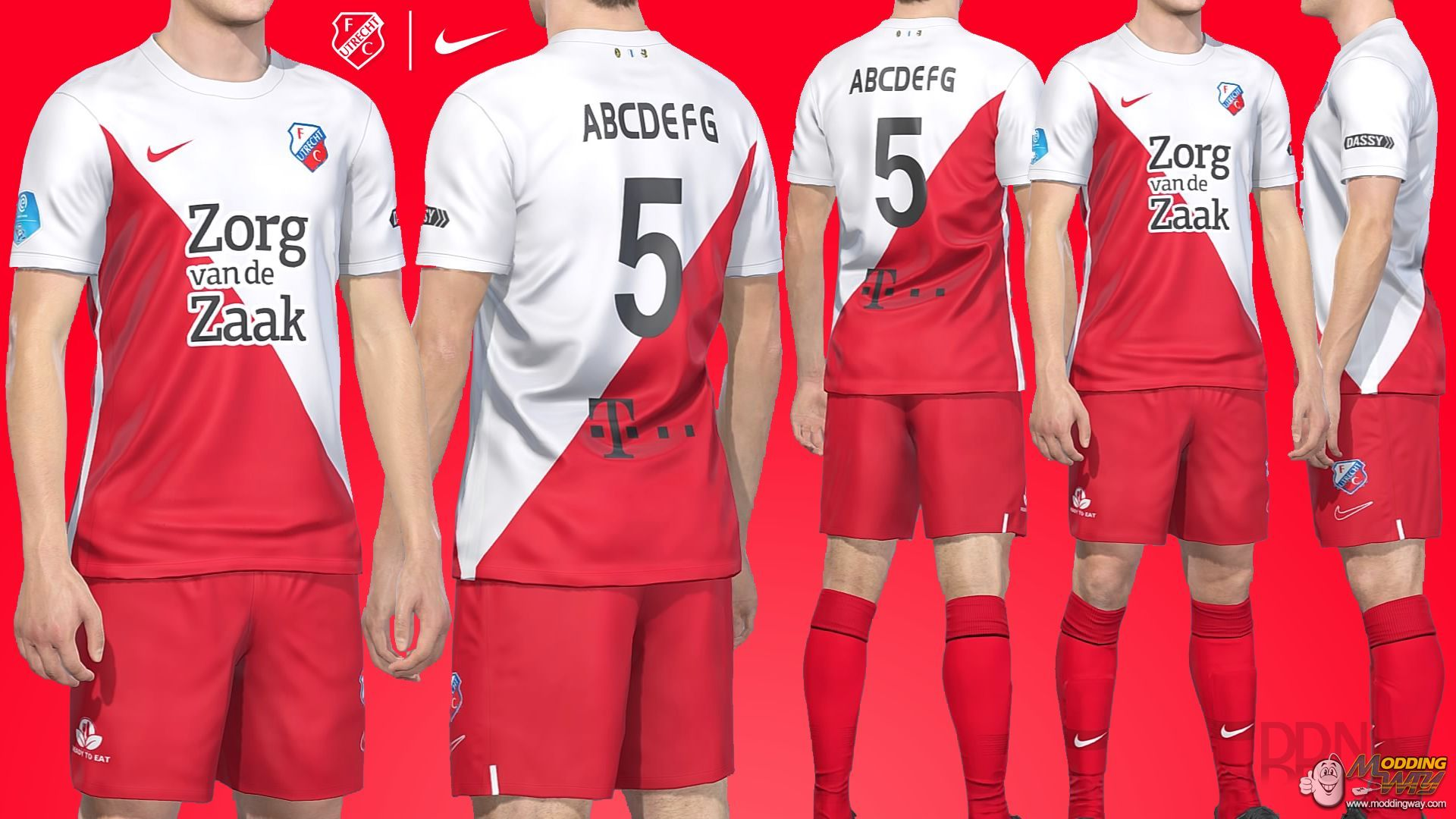 Fc Utrecht 2019 2020 Nike Home Kit Pro Evolution Soccer 2019 At Moddingway