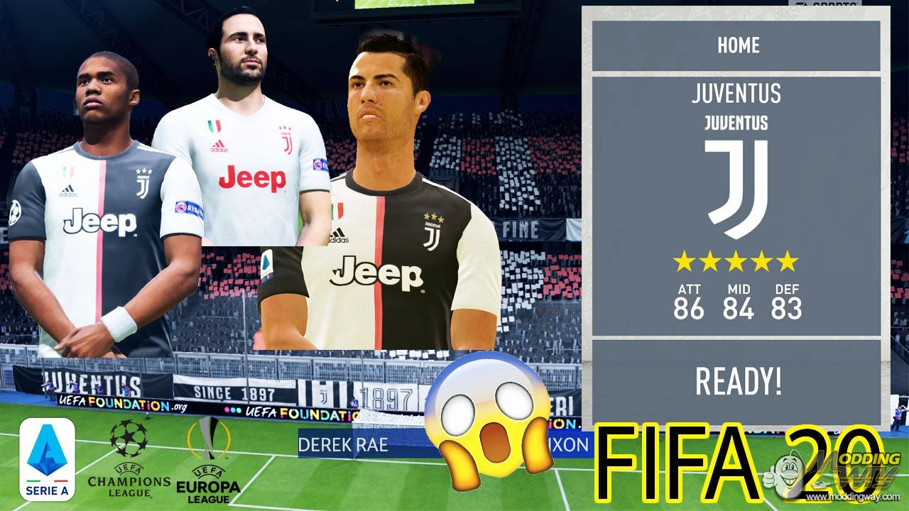 Full Licensed Juventus Fifa 20 Fifa 20