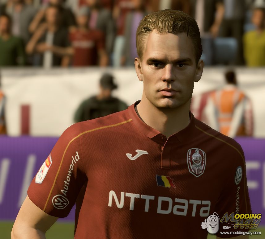 Frank De Boer Face Converted From FIFA 17/18/19 To FIFA 20