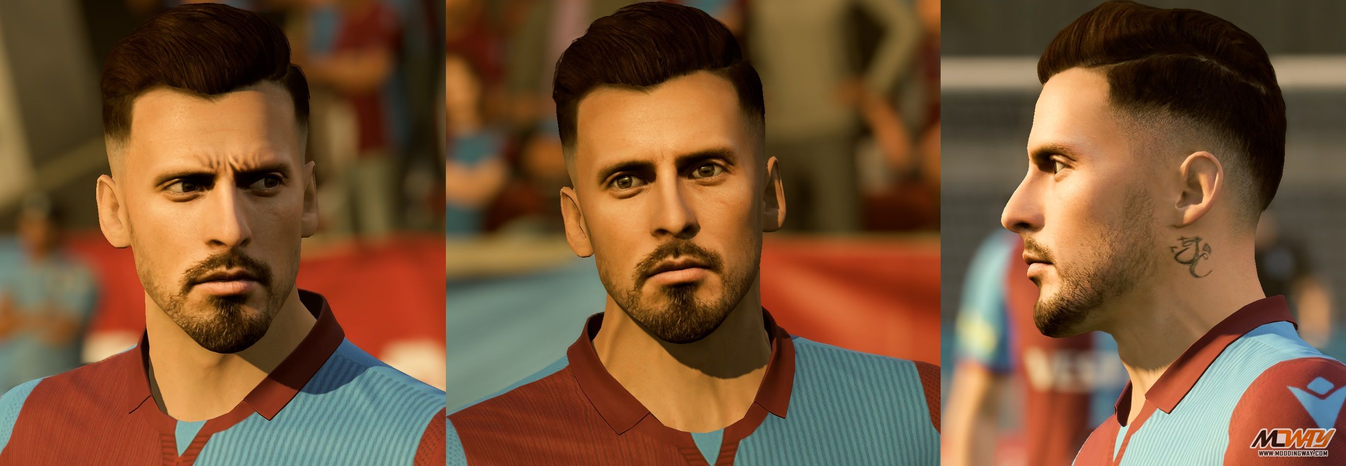 José Sosa Face - FIFA 20 at ModdingWay