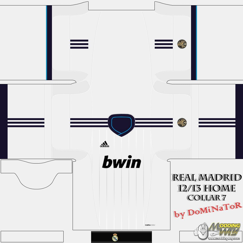 premium selection f4d25 59fb5 Real Madrid 12 13 Home Kit - FIFA 12 at ModdingWay