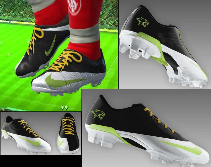 782ea5faa02 Yükle (870x688)Mercurial Superfly Green - Black - White Boots - Pro  Evolution Soccer 2010Pro Evolution Soccer 2010   Boots   Mercurial Superfly  Green ...