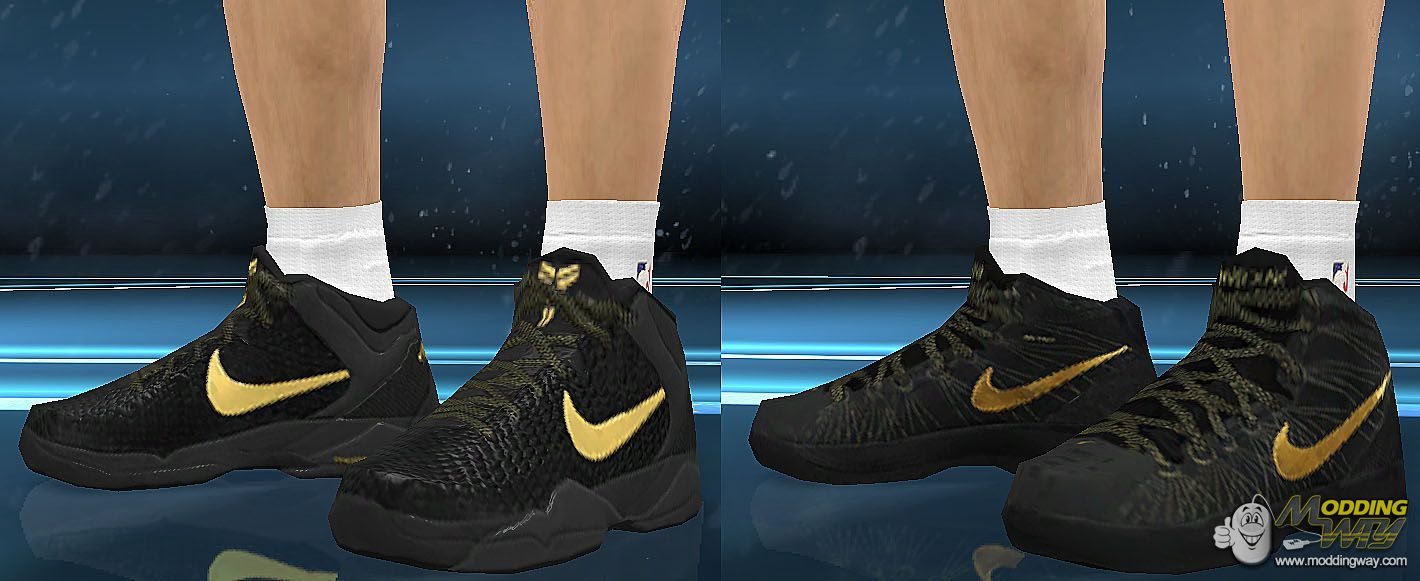 4da6b75ecd0c ... cheapest nba 2k12 shoes nike hyperdunk elite and nike kobe vii system  elite nba 2k12 7448c ...