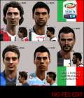 Seria A facepack by Michelot94 -NO PES EDIT