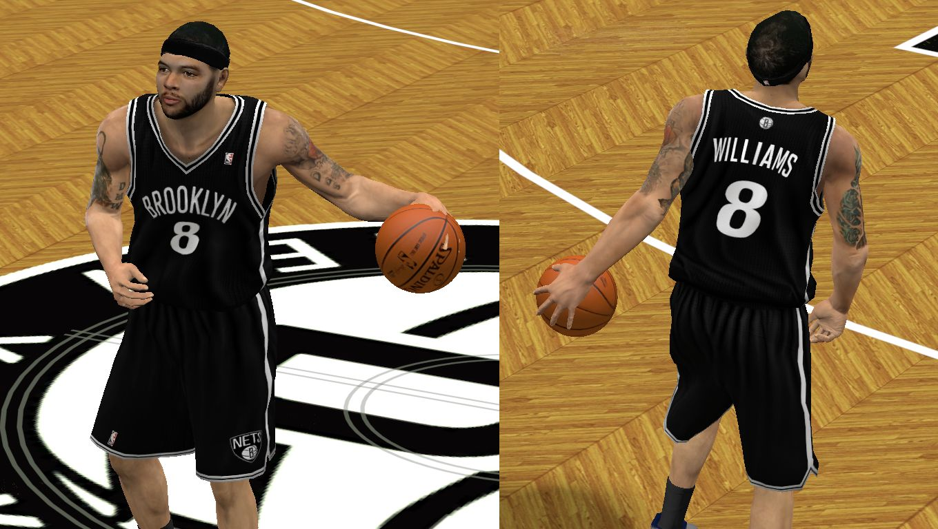 a25f45acd NBA 2K12   Jerseys   Brooklyn Nets Leaked Jerseys - NBA 2K12