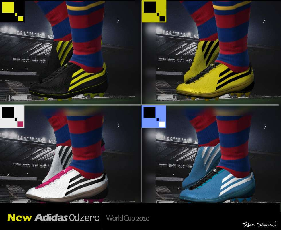 7e347e531ca Adidas Odzero Boots Pack - Pro Evolution Soccer 2010 at ModdingWay