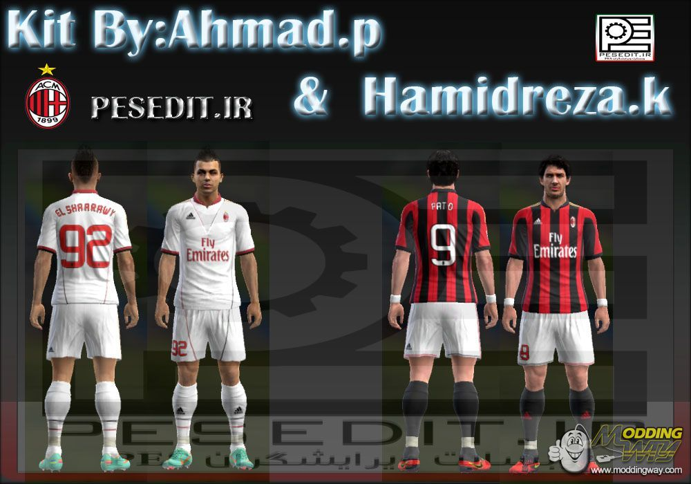 the best attitude e366f e7c61 AC MILAN 2013-14 by Ahmad.p&Hamidrteza.K - Pro Evolution ...