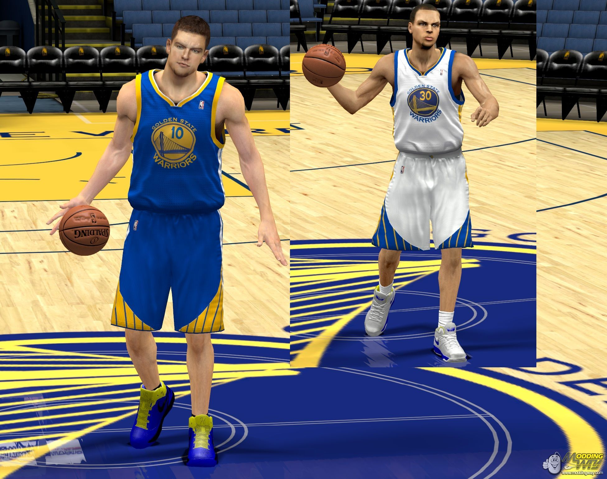 96a3ef21d29 warriors home and away jersey - NBA 2K13 at ModdingWay