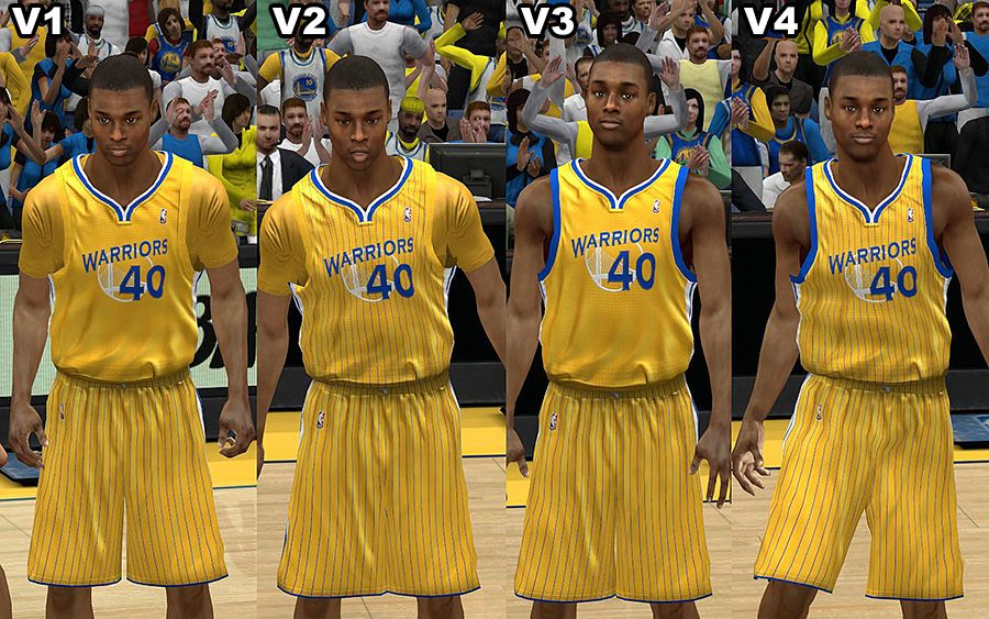 Golden State Warriors Jersey w  Crowd Fixed V.1.1 - NBA 2K13 at ModdingWay c64611bff