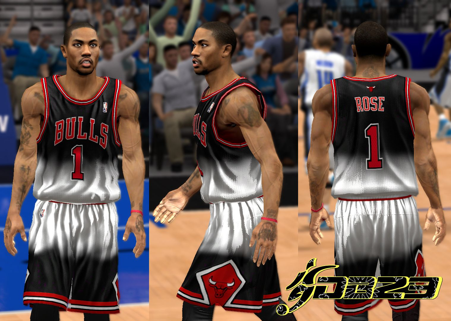 d0e836ae26f Chicago Bulls MEGA Jersey Pack - NBA 2K14 at ModdingWay