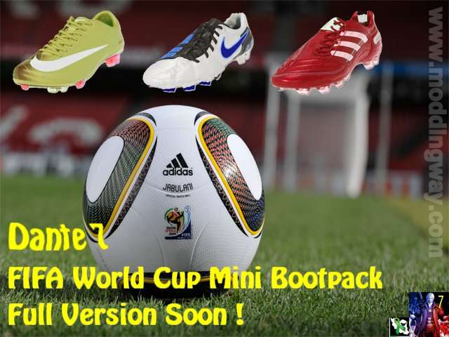 5c7a1b200c3 Pro Evolution Soccer 2010   Boots   FIFA World Cup Mini Boots Pack - Pro  Evolution Soccer 2010