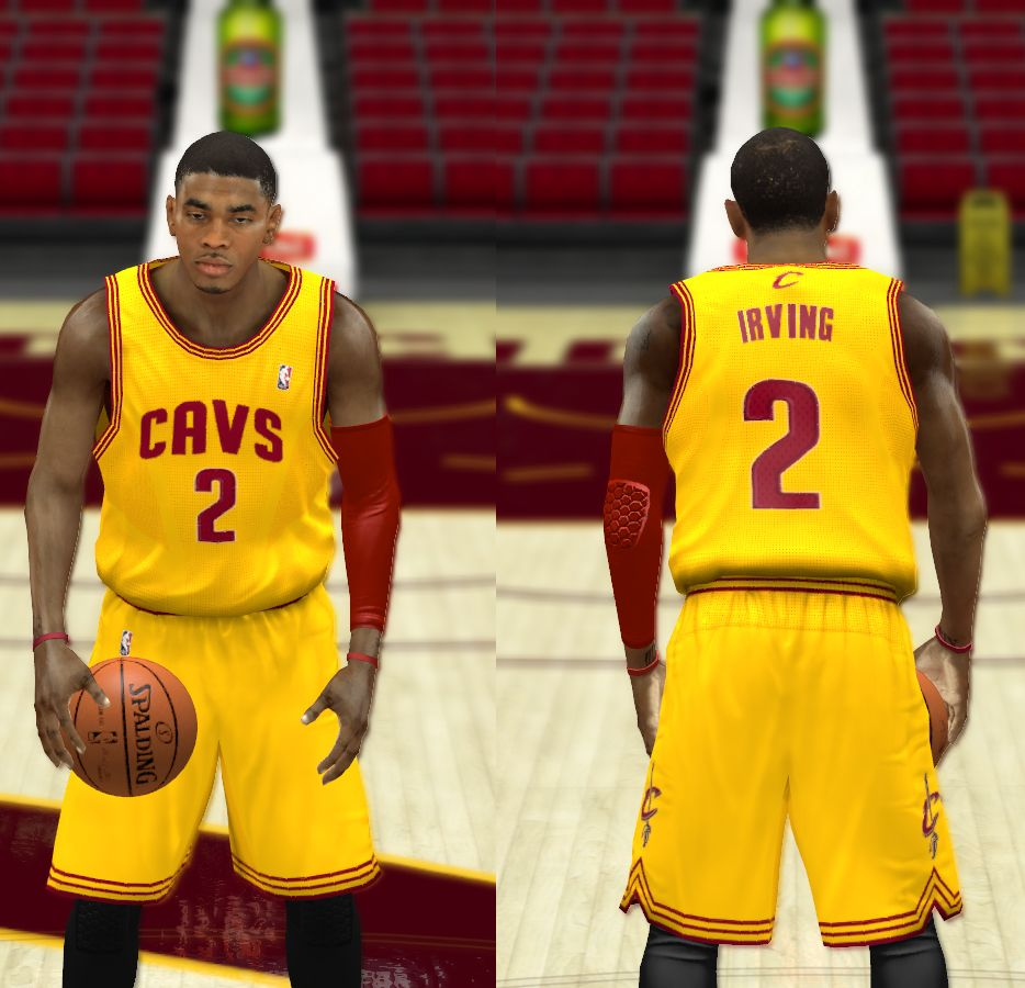 b8c6c9428918 Cleveland Cavaliers Jerseys - NBA 2K14 at ModdingWay