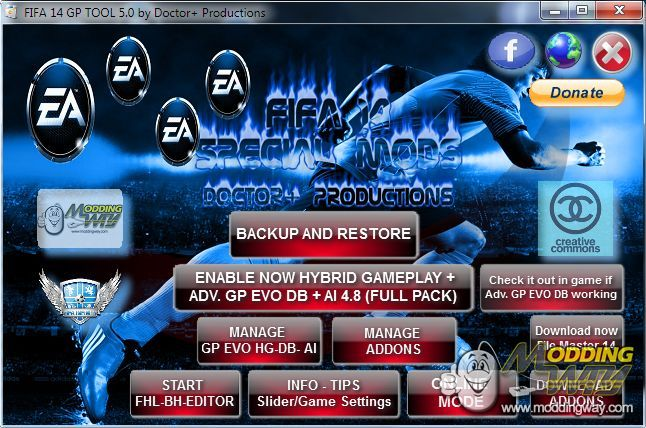 FI XIV ADVANCED GAMEPLAY EVOLUTION TOOL (official) - FIFA 14