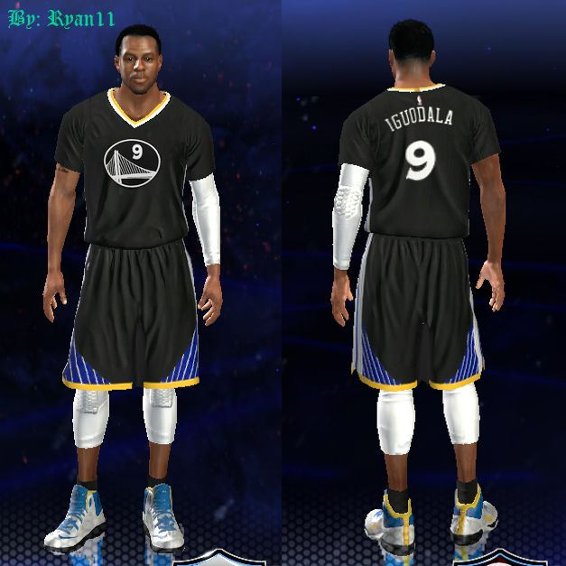 release date: 6537a ab90e 2014 - 2015 Golden State Warriors Jersey Pack - NBA 2K14 at ...