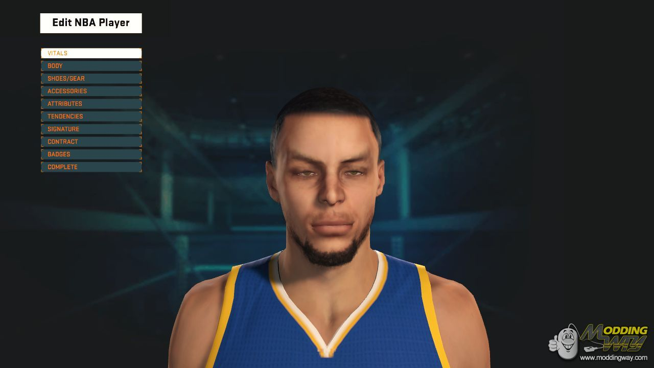 Stephen Curry Mini Afro PREVIEW ! - NBA 2K15