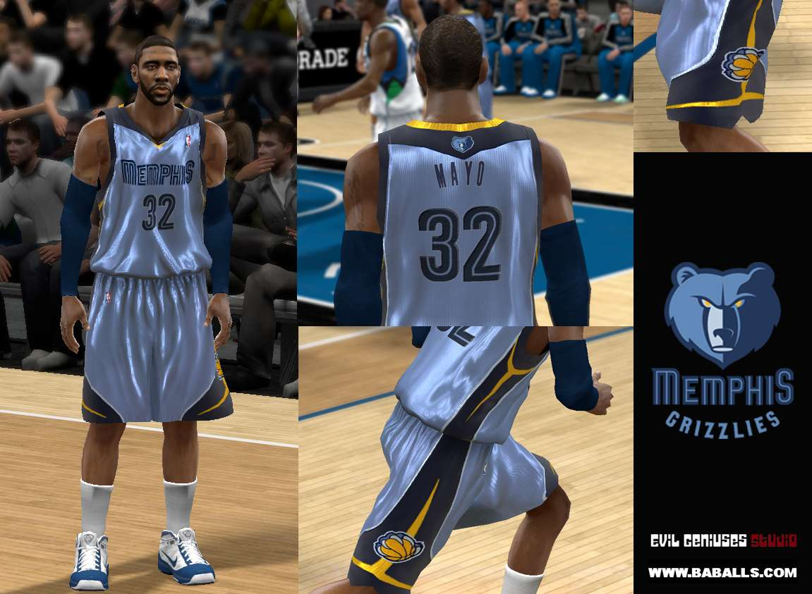 Memphis Grizzlies Alternate Jersey