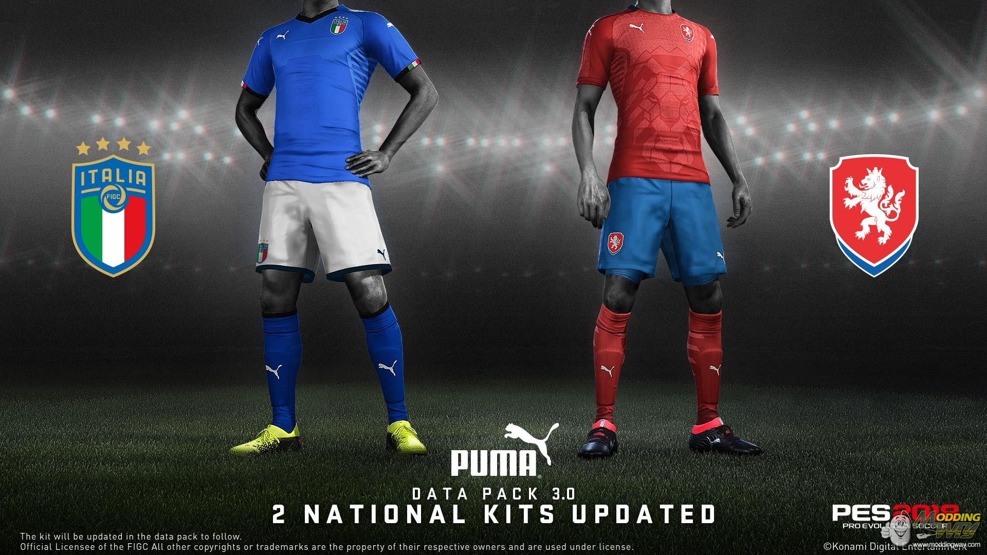 PES 2018 Data Pack 3 now available on Steam - Pro Evolution